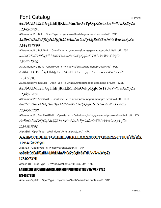 Printer's Apprentice - 2 Line Font Catalog